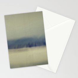 Mountain waves Stationery Cards