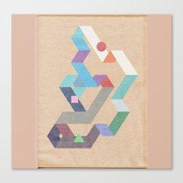 Parallelogram: Harmony II Canvas Print