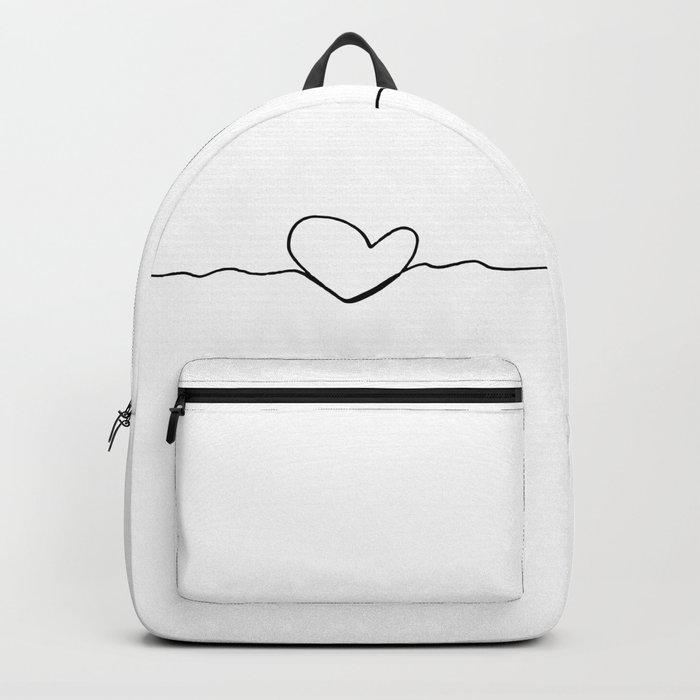 heart line Backpack