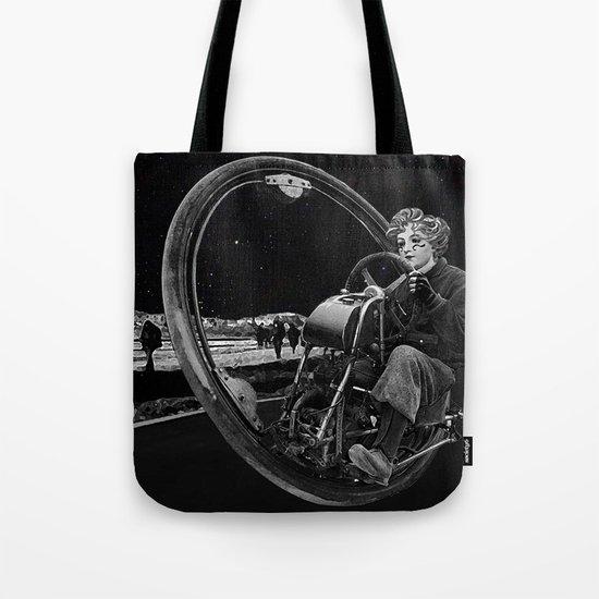 Getaway - Dieselpunk Monowheel Tote Bag
