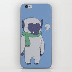 Yeti Boy iPhone & iPod Skin