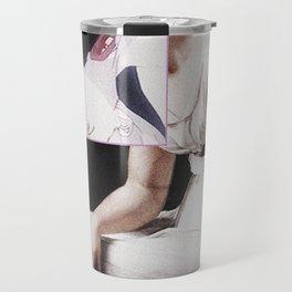 Rei Ayanami Evangelion Vaporwave Travel Mug