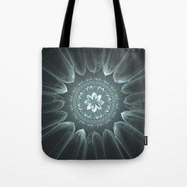 Blossom Within in Platinum Tote Bag