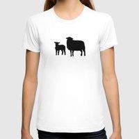 sheep T-shirts featuring Sheep by Brontosaurus