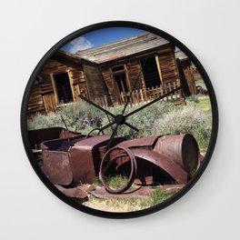 Rusty memories Wall Clock