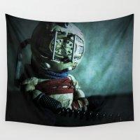 bioshock Wall Tapestries featuring Mr Bubbles!  by JackEmmett