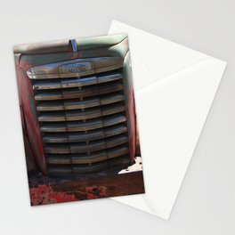 GMC, GMC Truck Grill, Old Truck Stationery Cards