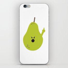 Vulgar Fruit: Profane Pear iPhone Skin