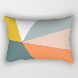 Modern Geometric 33 Rectangular Pillow