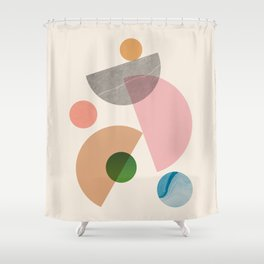 Abstraction_SHAPE_MODERNISM_MInimalism_001 Shower Curtain