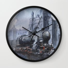 A train to Lwow Wall Clock
