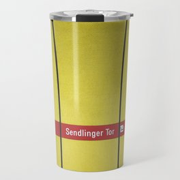 Munich U-Bahn Memories - Sendlinger Tor Travel Mug