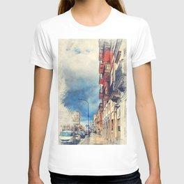 Trapani art 20 Sicily T-shirt
