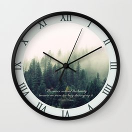 Never Noticed The Beauty Wall Clock