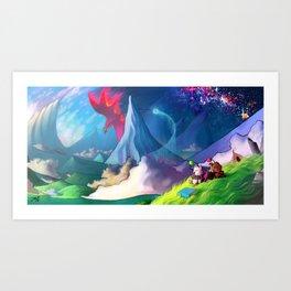 moogle Art Print