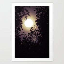 Super Moon I Art Print