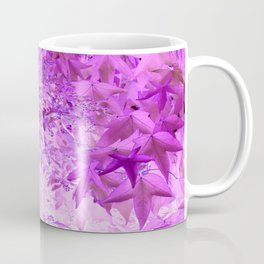 Sweetgum Leaves -Version Violet Coffee Mug