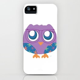 nerdy birdie iPhone Case