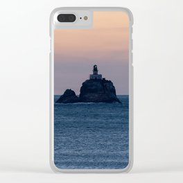 Oregon Coast Lighthouse Clear iPhone Case