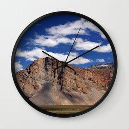 Scenery in Spiti Valley Wall Clock