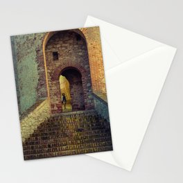 Medieval Fortress Stationery Cards
