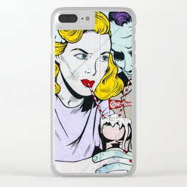 The Devil And His Bride Clear iPhone Case