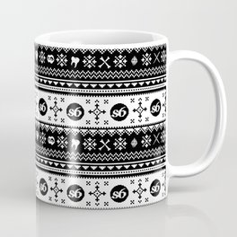 Ugly Sweater Society6 Coffee Mug