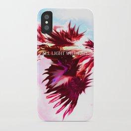 Blue Dragon Dances iPhone Case