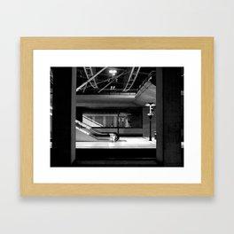 The Station Framed Art Print