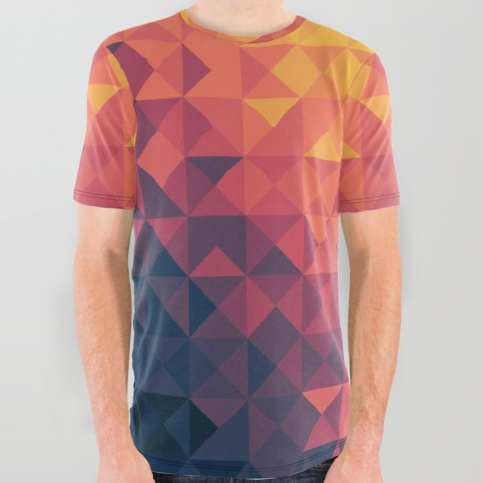 Infinity Twilight All Over Graphic Tee