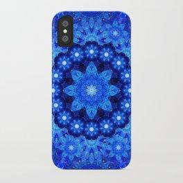 Lapis Crown Mandala iPhone Case