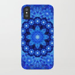 Lapis Crown Mandala iPhone Case