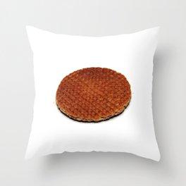 Stroopwafel Throw Pillow