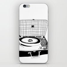 Record Player iPhone & iPod Skin