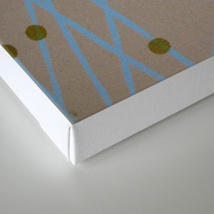 Screen Print design Canvas Print