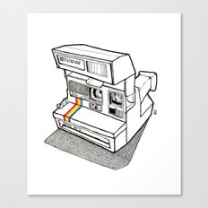 Polaroid Spirit 600 CL Canvas Print
