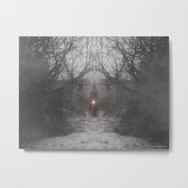 Guardians of the Realm: Winter's Light Bringer  Metal Print