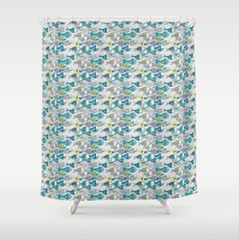 go fishing then! Shower Curtain