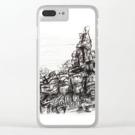 Big Thunder Mountain Clear iPhone Case