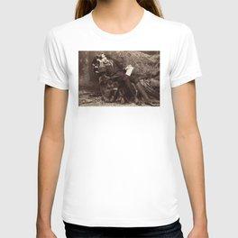 Oscar Wilde Lounging Portrait T-shirt