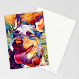 Australian Cattle Dog 2 Stationery Cards