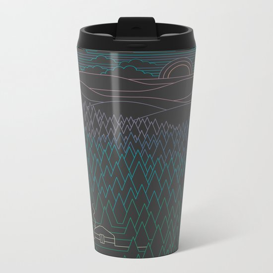 The Little Clearing Metal Travel Mug