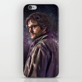 Hannibal 'Will Graham' Galaxy Art Print iPhone Skin