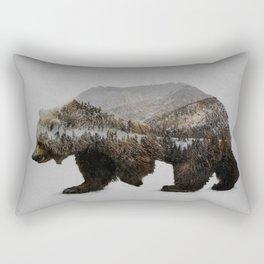 The Kodiak Brown Bear Rectangular Pillow