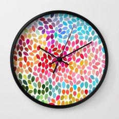 rain 6 Wall Clock