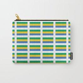 flag of gabon -gabon,gabonais,gabonaise,Gabonese,gabones,libreville. Carry-All Pouch