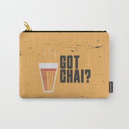 Funny Got Tea Chai Hindi Quote Carry-All Pouch