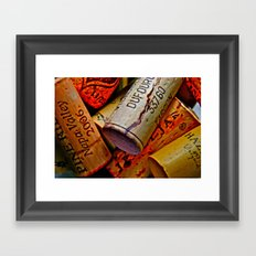 Uncorked Framed Art Print