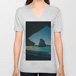 Paradise Island 4 Unisex V-Neck