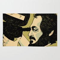 kubrick Area & Throw Rugs featuring kubrick by Le Butthead